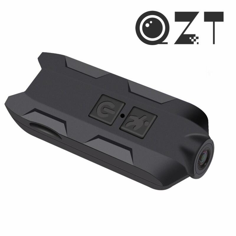 QZT Mini HD Kamera Video Audio Recorder Drahtlose Webcam 1080P Sport Fahrrad Bike Körper Kamera Kleine Geheimnis Kamera Mini camcorder