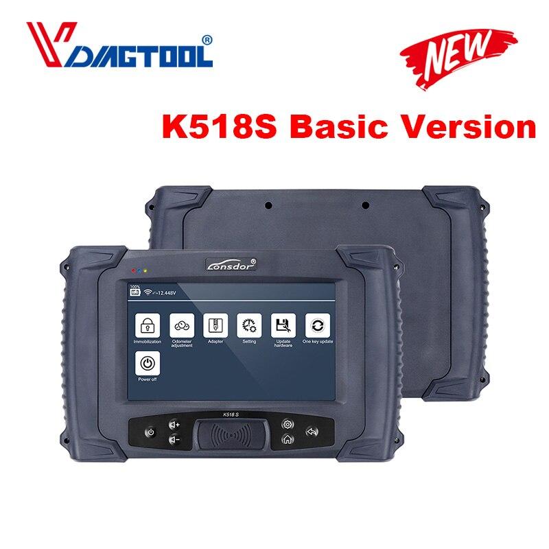 LONSDOR K518S Programmatore Chiave Auto Per Tutte Le Marche 4th & 5th immo Versione Base Per Tutte Le Marche di Trasporto Per BMW FEM/EDC di SKP1000