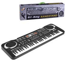 Дети Многофункциональный 61 Ключ Электронный орган музыкальная обучающая клавиатура игрушка пианино