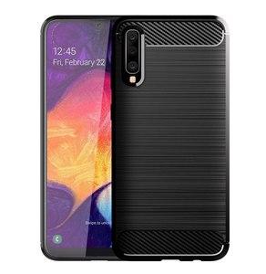 Image 2 - Karbon yumuşak silikon telefon kılıfı için Samsung Galaxy A50 A10 A20 A30 A40 A70 M20 M30 M40 Fiber kapak tampon galaxyA50 galaxy 2019
