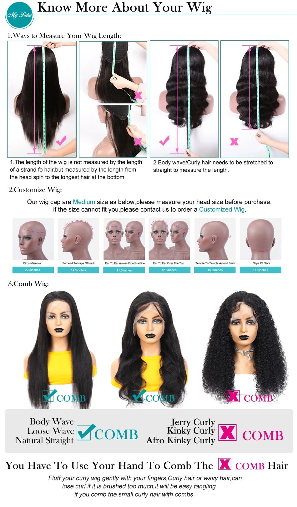 Perucas de cabelo humano com franja perucas