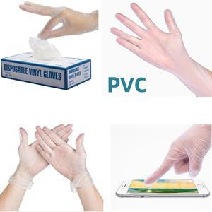 Image 2 - 100 Pcs Transparante Wegwerp Pvc Handschoenen Afwassen/Keuken/Latex/Rubber/Tuin Handschoenen Universele Voor Huis Schoonmaken