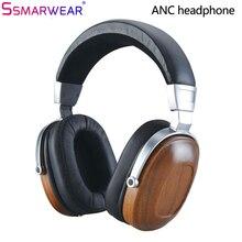 B8 Headphone HIFI Stereo Dynamic Wooden Earphone Over Ear DJ Monitoring Headphones Metal Bass Noise Cancelling Good Hifi Headset