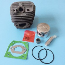 Cilindro de motosierra y pistón de 58cc, juego completo, kit de cilindro de sierra de cadena 5800, diámetro del cilindro 45,2mm