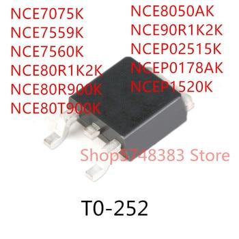 10PCS NCE7560K TO-252