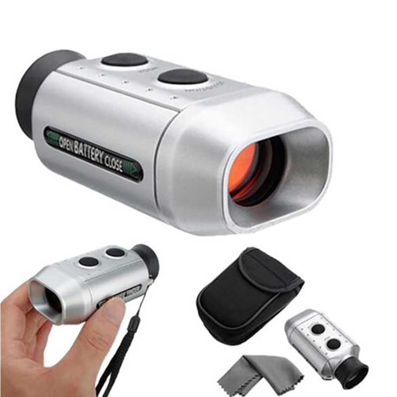 Portable Golf Scope Rangefinder 7X Digital Golf Range Finder Golf Lightweight Hunting Distance Range Finder(used During The Day)