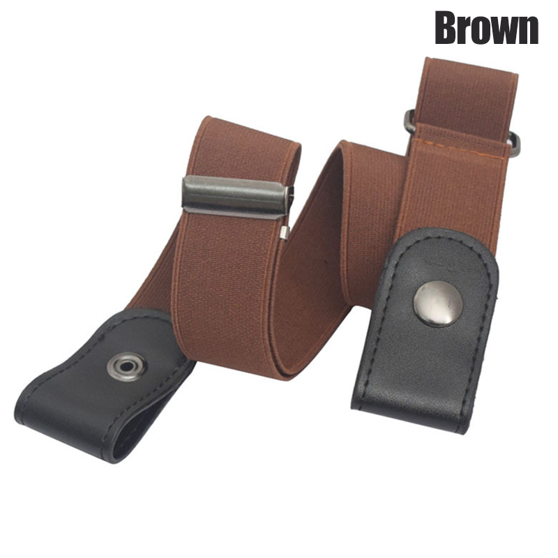 2019 Droppshiping Buckle Free Stretchable Lazy Belt Elastic Waist Belt Invisible for Jeans Pant Dress d88