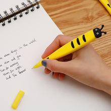 Кавайная гелевая ручка с мультяшными животными 1 шт ccute bee