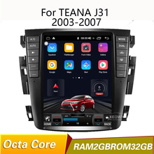Android 8.1 Qcta core 9.7″ Car radio GPS for teana J31 2003-2007 230JK 230jm For Samsung S7