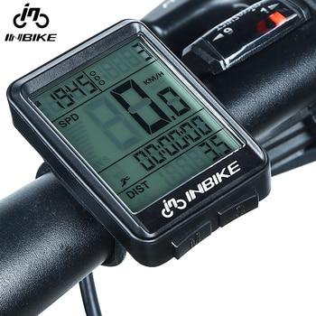 INBIKE-ciclocomputador impermeable con retroiluminación LED, cuentakilómetros para Bicicleta, velocímetro, multifunción, Licznik Rowerowy...