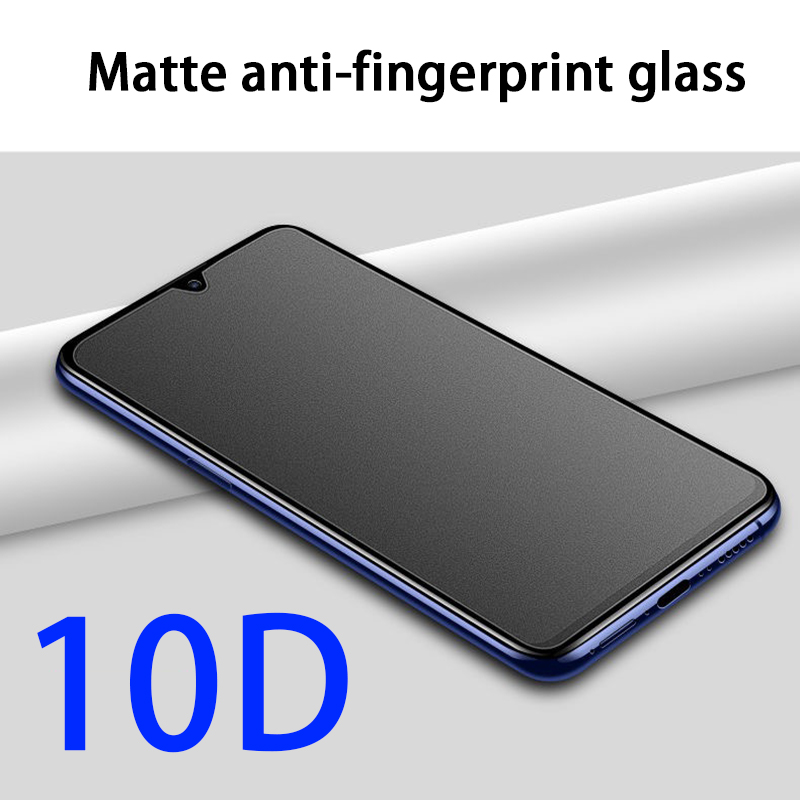 Anti-fingerprint Tempered Glass Screen Protector On For Xiaomi Redmi Note 8T 8 Pro 8A Redmi8 K30 Note8 T Note8T Protective Film
