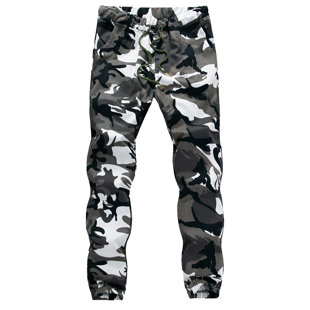 Jogging Pants Camouflage  Running Pants Men Sport Pencil Pants Men Cotton Soft Bodybuilding Joggers Gym Trousers Running 8.5