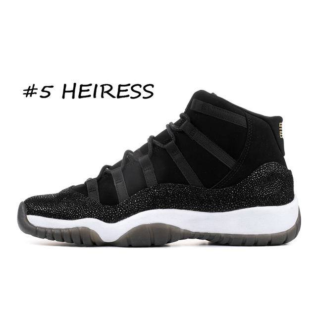 NEW Concord High 45 11 11s PRM Heiress Gym Red Chicago Platinum Tint Space Jams Men Basketball Shoes sports Sneakers 36-46