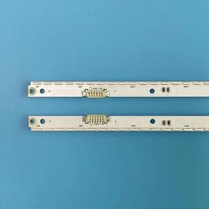 Image 2 - חדש ערכת 2 PCS 56LED 500mm LED רצועת תאורה אחורית עבור Samsung UA40ES6100J UE40ES5500 2012SVS40 7032NNB RIGHT56 LEFT56 2D פנל
