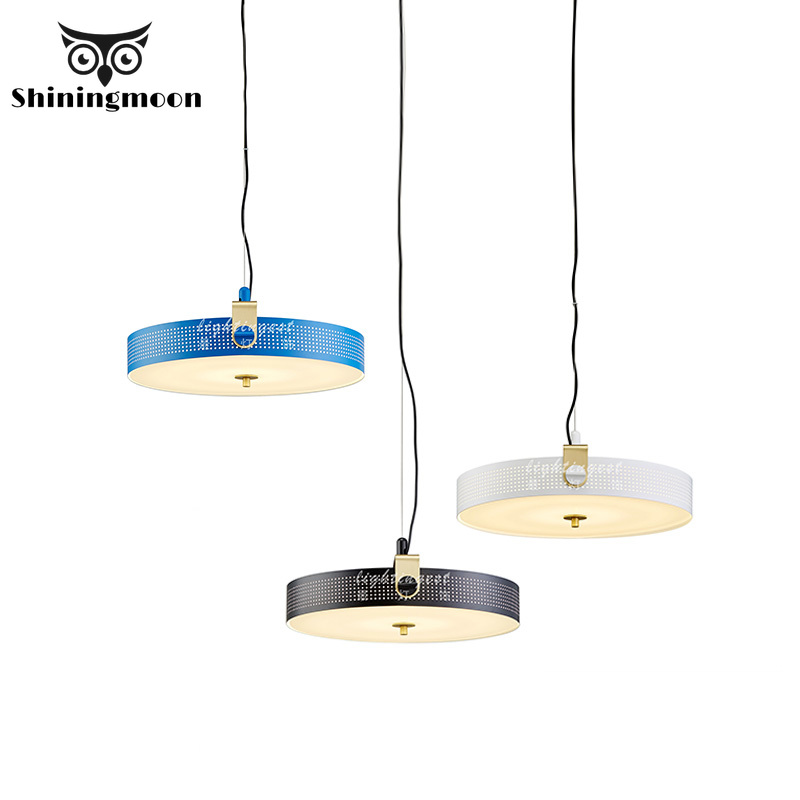 Modern Creative Iron Art White Black Pendant Lights Nordic Louis Decoration Dinning Room Cafe Pendant Light Home Light Fixtures