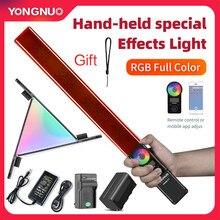 Yongnuo YN360 Iii YN360III Handheld 3200K-5500K Rgb Kleurrijke Ijs Stok Led Video Light Touch Aanpassen Gecontroleerde door Telefoon App