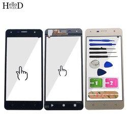 Mobilny ekran dotykowy do obsługi Prestigio Muze X5 Muze D5 LTE PSP5518 PSP5513 Duo ekran dotykowy panel digitizera czujnik przedniej szyby narzędzia w Panele dotykowe do telefonów komórkowych od Telefony komórkowe i telekomunikacja na