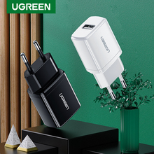 Ugreen 5V 2.1A USB Charger for iPhone X 8 7 iPad Fast Wall Charger