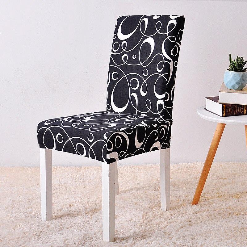 Black Stripe chair cover