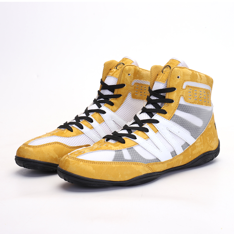 Professional Wrestling Boxing Shoes for Men Women Breathable Anti Slip Fighting Training Boots Men Sneakers