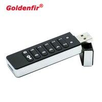 Unidad Flash USB 2,0 cifrado, 8GB, 16GB, 32GB, 64GB, Windows, clave de contraseña, disco en U, Hardware portátil para negocios y privado