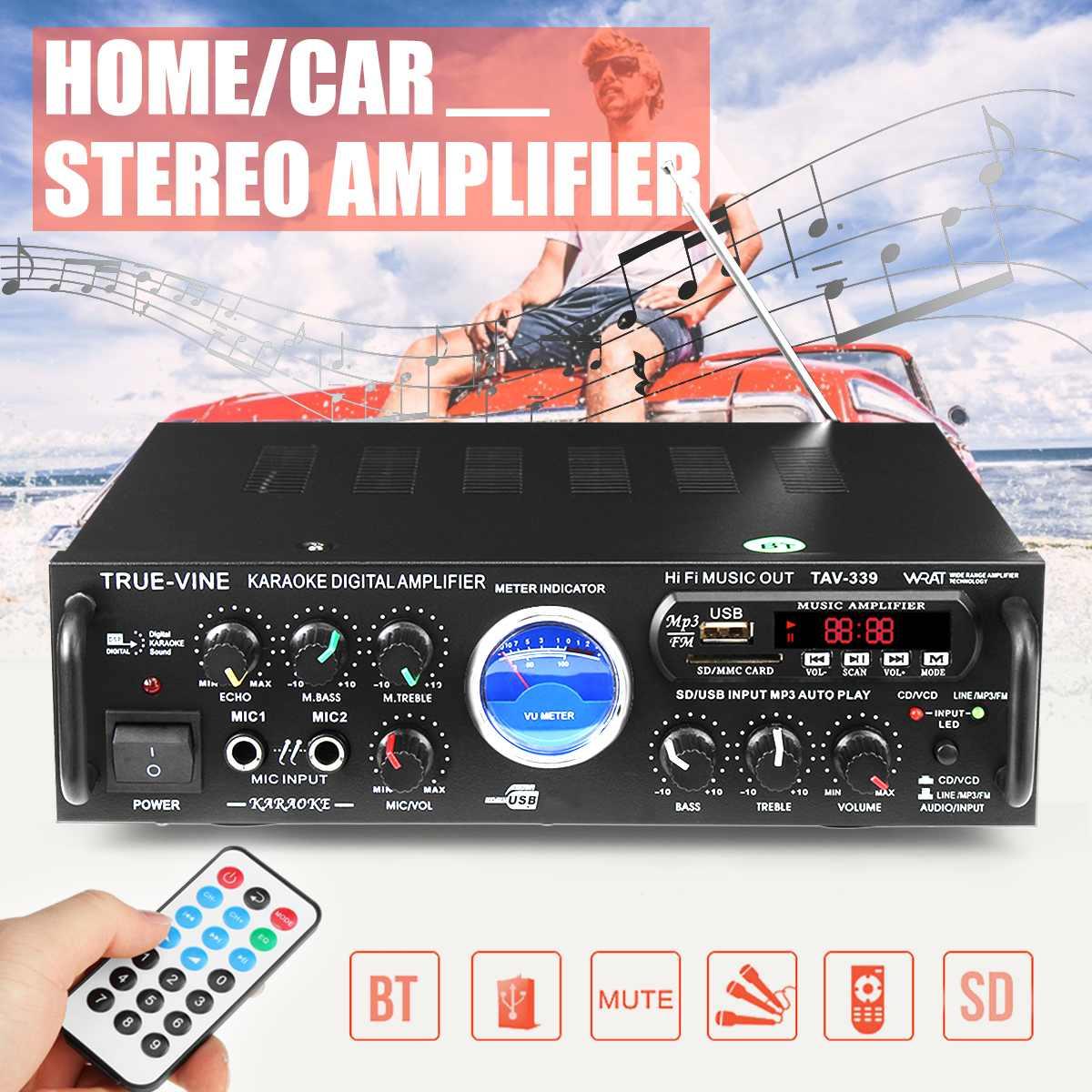 600W 2 Kanal Auto Auto Audio Verstärker Power Stereo Bass Lautsprecher Auto Audio Subwoofer Home Verstärker Auto Audio Verstärker