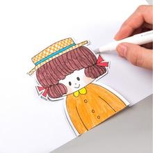 1 шт. японский креативный бумажный нож-ручка износостойкий Новости бумажный ручной книжный резак лента керамическое лезвие универсальный нож режущие ножи