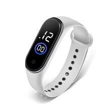 Men Watches Digital Women Clock Sports-Wristwatch Silicone Wateproof for Bracelet Unisex