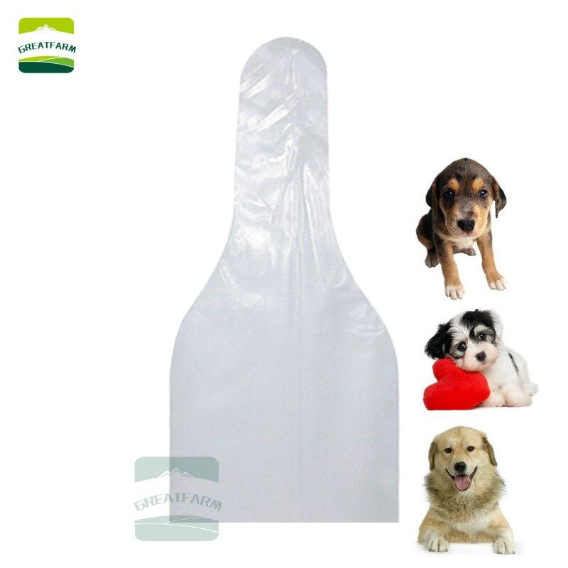 5 100PCS dog semen collection bags AI sperm collect bags plastic disposable font b pets b