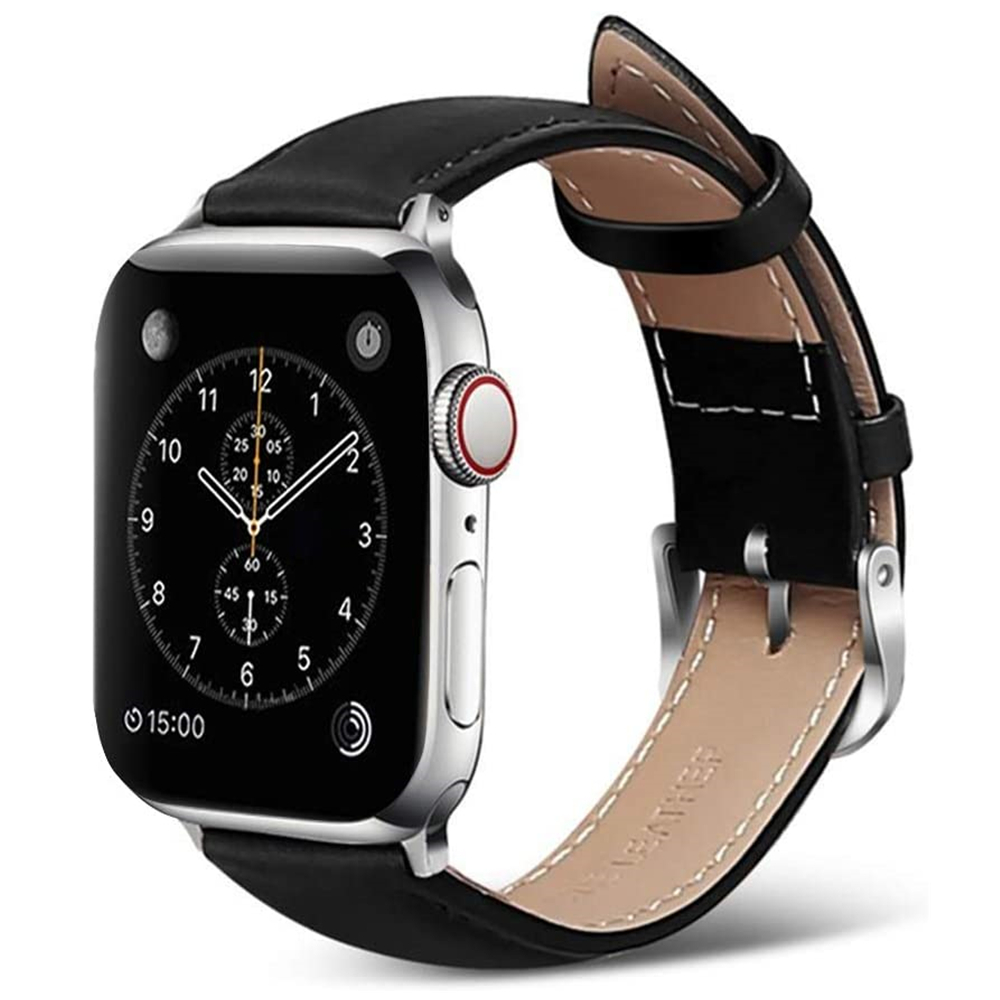 Leather Bracelet For Apple Watch 5 4 44mm 40mm Strap Compatible With IWatch Correa Apple Watch 3 Band 38mm 42mm Wristwatch Belt