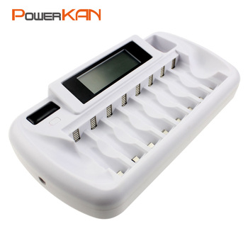 8-slot battery charger 1.2V AA AAA for nimh nicd rechargeable