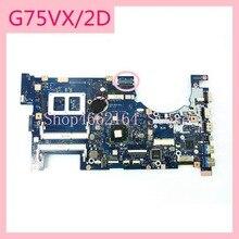 G75VX_MB_2D 노트북 마더 보드 REV2.0 연결 ASUS G75 G75V G75VX 60 NLEMB1101 C04 노트북 메인 보드 완전 테스트 됨