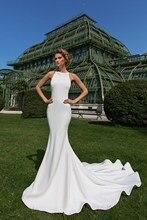 HA090 Real sample photo sleeveless simple satin chiffon bridal wedding dress gown factory PRICE PLUS SIZE plus size flower sleeveless dress