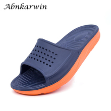 Summer Indoor Outdoor Men Slippers Home Shoes Beach House Bathroom Slates Slipper Slipers Claquette Homme Badslippers Sleepers