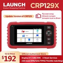 LAUNCH X431 CRP129X OBD2 автомобильный сканер для диагностики инструмента автоматического сканирования диагностических кодов OBDII Reader PK Creader VII CRP129E