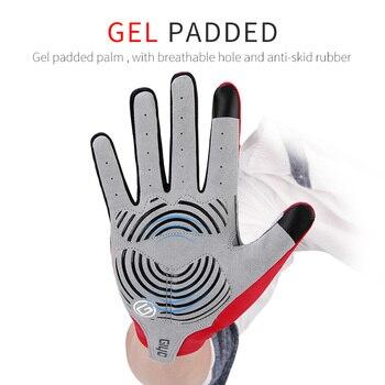 Half/Full Finger Cycling Gloves Men Women GEL Bicycle Glove Red/Blue/Black/Green GIYO Sports Mittens Road Mountain Bike Gloves