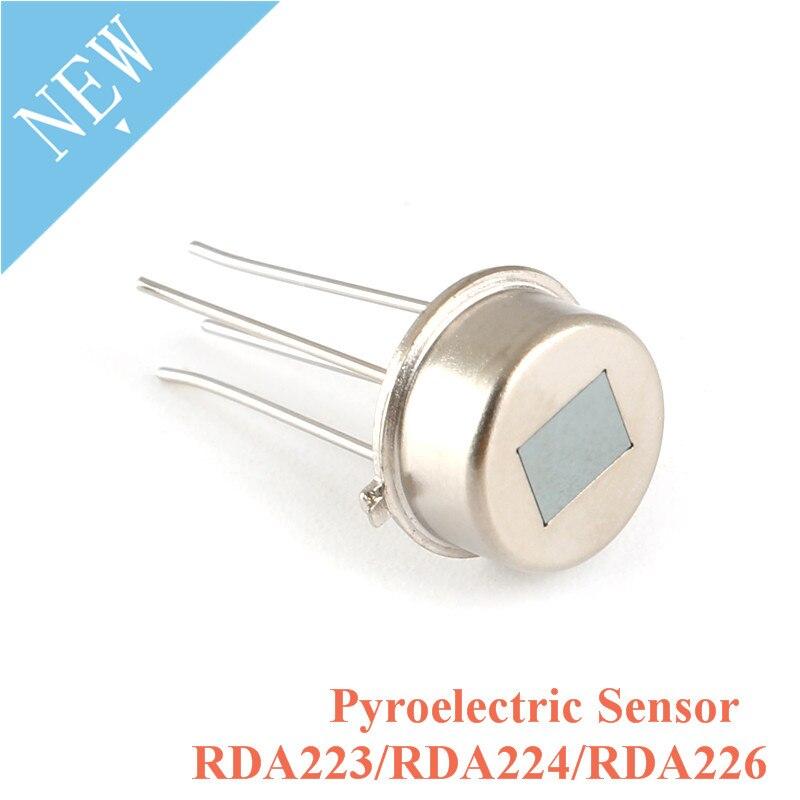 5pcs RDA223 RDA224 RDA226 Sensor Digital Pyroelectric Sensor PIR Human Body Infrared Pyroelectric Sensor Switch Infrared Probe