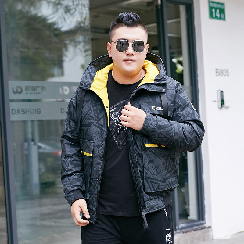reputable site fb8ba 10321 US $100.3 15% OFF|10xl 8xl New Men Winter Jacket Coat Fashion Quality  Cotton Padded Windproof Thick Warm Soft Brand Clothing Hooded Male  Parkas-in ...