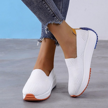 Fashion Women Flats Slip on Mesh Shoes Woman Light Sneakers Spring Autumn Loafers Femme Basket Flats Shoes