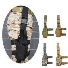 Étui Airsoft militaire réglable pour pistolet de chasse tactique, pochette adaptée à la plupart des pistolets GLOCK 17 19 , M1911, BERETTA m9
