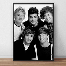 One Direction Poster canvas painting Posters and decor Character Prints Art Canvas Painting Wall Picture for Living Room Decor