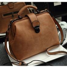 Ретро сумка моды большой Ёмкость сумка женская сумка-скраб на плечо из искусственной кожи Сумочка два Новый стиль ZF10021