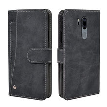 Luxury Wallet Case For LG G6 G7 G8 G8s G8X Q6 Q7 V10 V20 V30 V35 V40 V50 ThinQ Case Vintage Flip Leather Silicone Cover