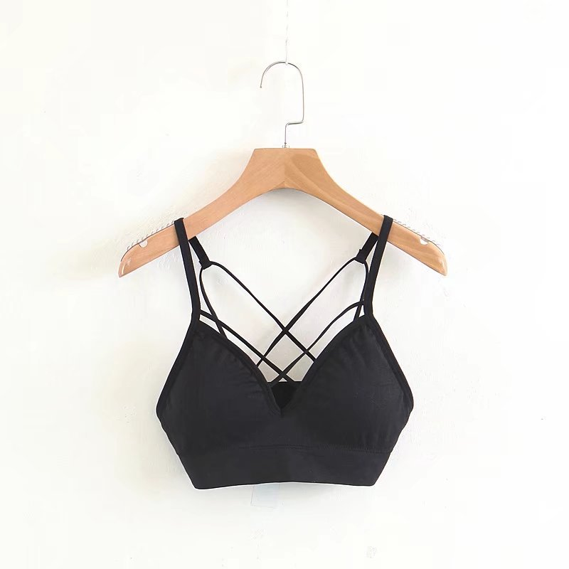 Summer New Sexy Wrapped Chest For Women Fashion No Steel Ring Beauty Back Bras Lady Slim Body Straps Comfortably Underwear