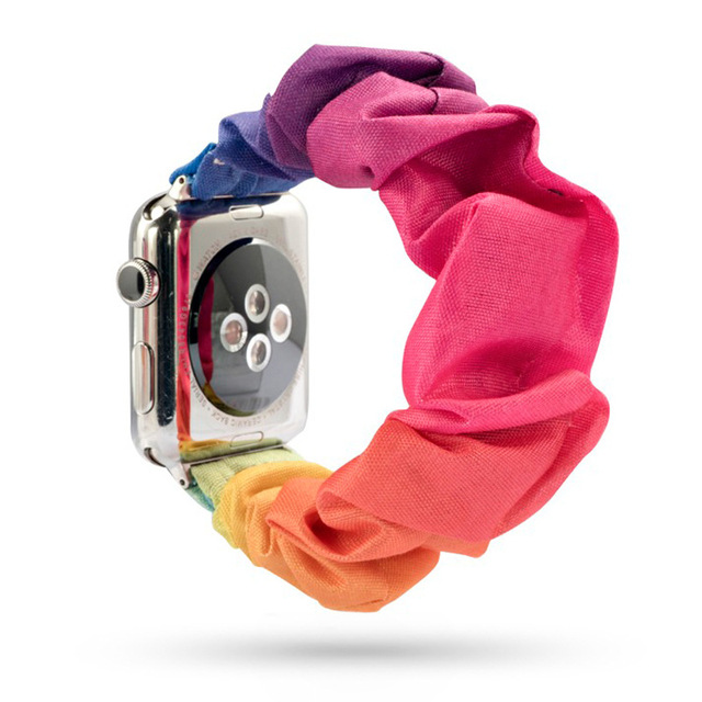 Fashion Scrunchie Band for Apple Watch 2