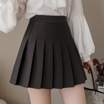 Ladies Student Pleated Skirts