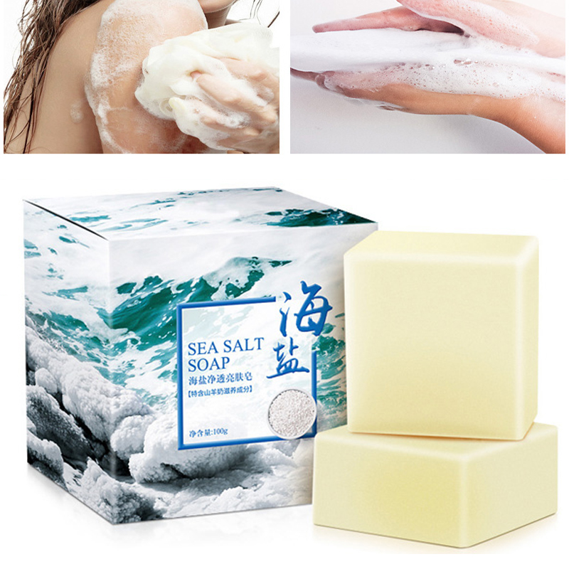 100g Anti Fungus Soap Washing Hand Bath Shampoo Face Clean Acne Treatment Whitening Bathing Charcoal Milk Soap Body Care