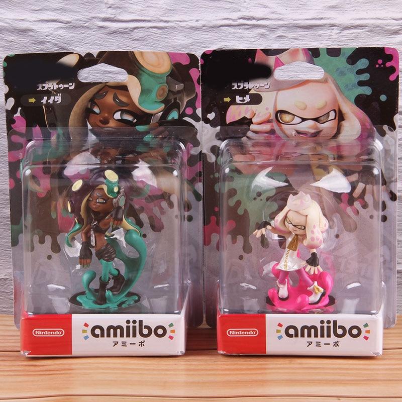 Anime Jet Nintendo Amiibo Shooting Game Warrior Amibo Action Figures Collection Model Toy Gift 8-10cm