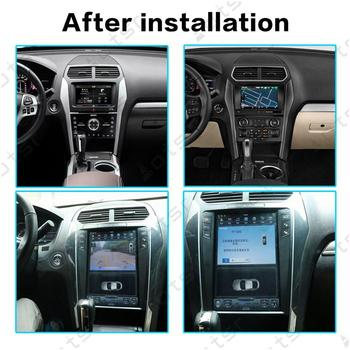 "Aotsr Tesla 12.1"" Android 8.1 Vertical  screen Car DVD Multimedia player carplay GPS Navigation For FORD Explorer 2011-2019"