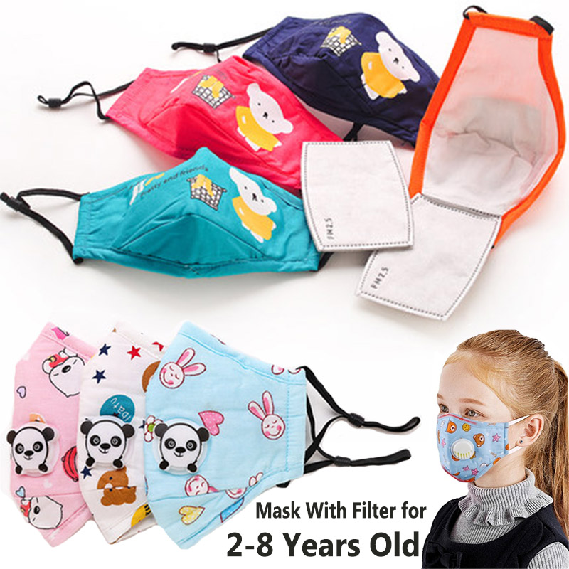 Клапан детская маска респиратор PM2.5 маска для лица многоразовые 5 слоев маски для лица анти туман дымка пыль дышащая N95 детская маска для рта|Маски|Красота и здоровье - AliExpress
